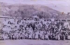 """Miembros de la iglesia evangélica Presbiteriana """"El Dios Vivo"""" de Guastatoya, El Progreso, que inició en 1909 (Sitio web: www.elDiosvivo.org)"""
