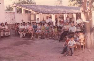 """Iglesia Presbiteriana """"El Dios Vivo"""" que se formó en 1909 en Guastatoya, El Progreso, Guatemala"""